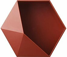 YKWYQ Geometrische Hexagon Storage Rack