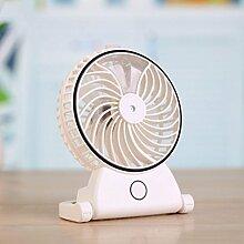 YL Usb-Aufladung Mini-Schönheits-Spray-Ventilator-Feuchter Ventilator-Ventilator-Handheld-Klimaanlage , White,white