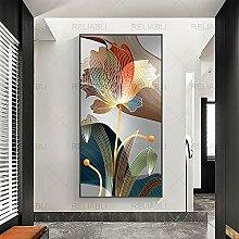 YL–wallart Abstrakte Wandkunst 70x140cm ohne