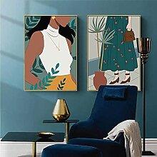 YL–wallart Leinwand Wandkunst Vintage