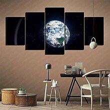 YLAXX 5 Leinwanddruck Aus Dem Weltraum