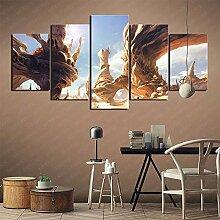 YLAXX Leinwanddrucke Fantasy Art Desert Star Wars