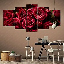 YLAXX Leinwanddrucke Schöne Rosen Hintergrund