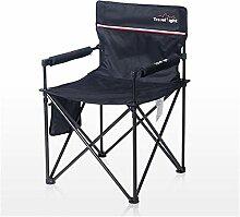 YLCJ Camping Stuhl faltbar gepolstert für die