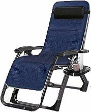 YLCJ Camping Stuhl im Freien Liegestuhl, leichte