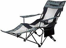 YLCJ Camping-Stuhl im Freien Sun Lounger Recliner,