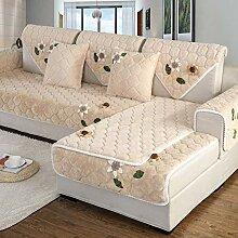 YLCJ Einfache Schonbezug Sofa, Plüsch Sofa
