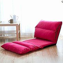 YLCJ Lazy Sofa Faltbares Sofa mit rechteckiger