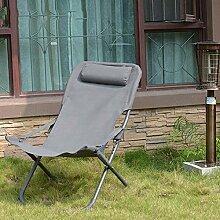 YLCJ Leisure Beach Chair Klappliege Klappstuhl