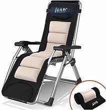 YLCJ Lounge Chair Klappbare Liege Büro Lunch Bed