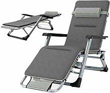 YLCJ Outdoor Lounge Chair Mittagspause Klappbett