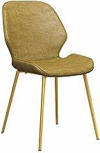 YLCJ Stühle Stuhl, Esstisch und Stuhl mit Rücken