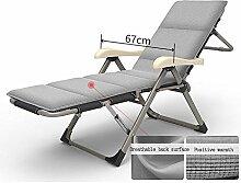 YLCJ Verstellbarer Klappstuhl Mittagspause Stuhl