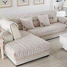 YLCJ Winter plüsch Sofa Handtuch, Bezug Sets für