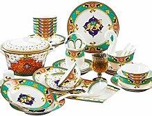 YLee Europäisches hochwertiges Porzellan-Geschirr