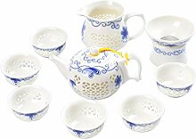 YLiansong-home Keramik-Teekannensatz
