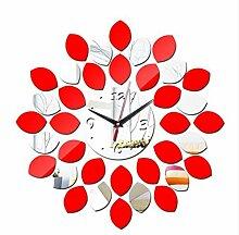 YLJYST DIY Selbstklebende Uhr Wandaufkleber