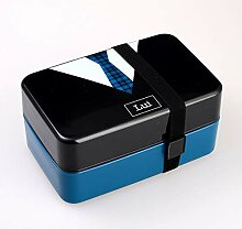 YLWL 1400ml Mikrowelle Double Layer Lunch Box