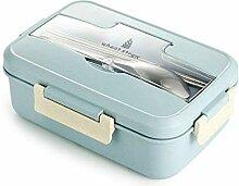 YLWL Mikrowelle Lunch Box Weizenstroh Essgeschirr