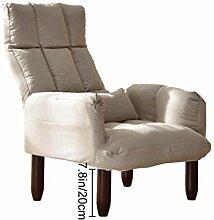 YLYWCG Still-Sofa Einzelsofa Lazy Couch Stillstuhl
