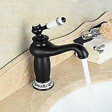 ymei Wasserhahn Waschbecken Wasserhähne Schwarz