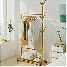 Ymjdmb Bambus Kleidung Kleiderstange