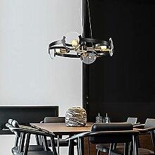 YMLSD Moderner Metall Kronleuchter, 4 Lichter / 6