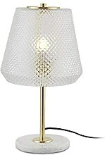 YMLSD Tischlampen,Nordic Glas Nachttischlampe