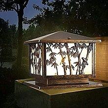 YMLSD Wandlampen,Stigma-Lampe,Retro-Gartenleuchte