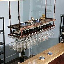 YMLSD Weinregale, Decken-Typ-Weinhalter Flasche
