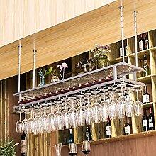 YMLSD Weinregale, Silberwandglas Flaschenhalter