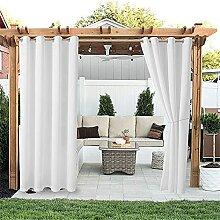 YMOMG Außenvorhänge Gartenterrasse Pavillon