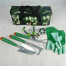 YmrWPF 7 Gartengeräte-Set (Gartenwerkzeuge Und