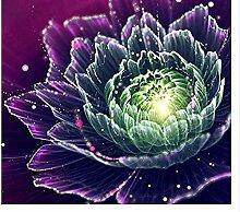 ymwenj 1000 Stück Puzzle Blumenbild 70x50cm