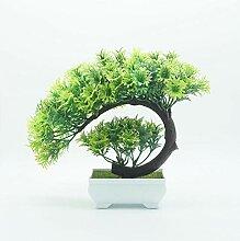 Ymwenj Künstliche Blume Simulation Blumentopf