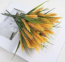 Ymwenj Künstliche Blumenreis Gefälschte Blumen