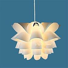 YMXJB Moderne PVC-Pendelleuchte kreative Persönlichkeit Kronleuchter Pastoral Cafe Bar Wohnzimmer hängende Lampe, 220V