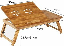 YMXLJF Bett kleiner Schreibtisch, tragbarer