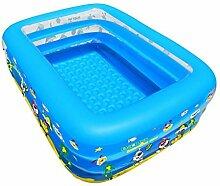 YMXLJF Familie Groß Groß Schwimmbad Pool Erwachsene Badewanne Familie Kind Aufblasbares Schwimmbecken