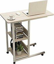 YMXLJF Laptop-Tisch, Sofa Seite Schreibtisch Bett