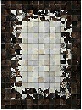 YMXLQQ Teppich Leder geometrische Hand genäht Schlafzimmer Bettvorleger leicht zu reinigen Studie Kaffeepad Teppich ( größe : 140*200cm )