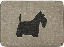 YnimioHOB Badematte Scotty Scottish Terrier