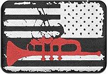 YnimioHOB Signalhorn amerikanische Flagge,