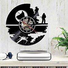 YNMB KS Star Wars Wecker CD Vinyl Wanduhr Home