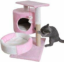 YNPGHG Katze Klettergerüst, Kätzchen Spielhaus