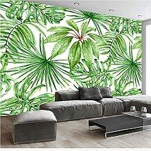 YNYEZBH 3D-Druck Wandbild Bananenblatt Pflanze