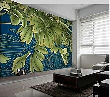 YNYEZBH 3D wandbild abstrakte Pflanze grüne