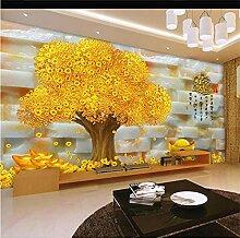 YNYEZBH 3D Wandbild Relief Pflanze Baum Wohnzimmer
