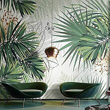 YNYEZBH 3D Wandbild Tapete Pflanze Palmblatt