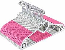 Yoassi Rosa Kleiderbügel Herzförmig Kunststoff -